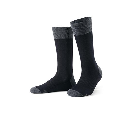 2 pár funkcionális zokni, fekete