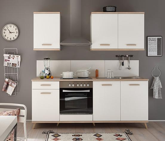 respekta-Premium-Retro-Küchenblock, ca. 210 cm