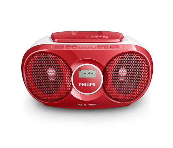Philips »AZ215R CD-Boombox«