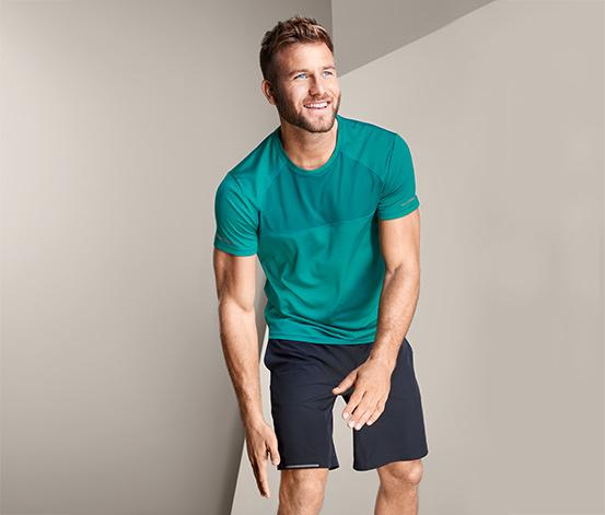 Męska koszulka sportowa z elementami odblaskowymi