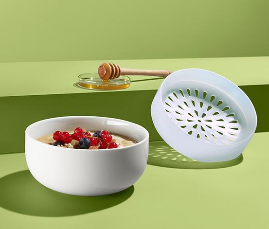 Mikrowellen-Porridge-Schale
