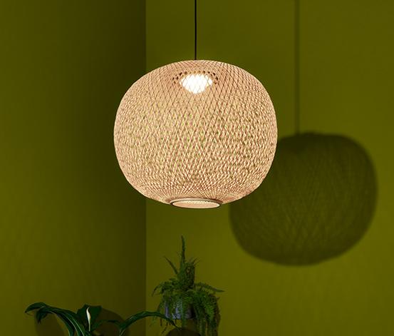 LED-Pendelleuchte, kabellos