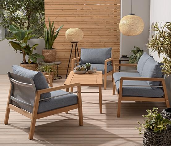 Gartenmöbel-Set »Premium«, 4-teilig