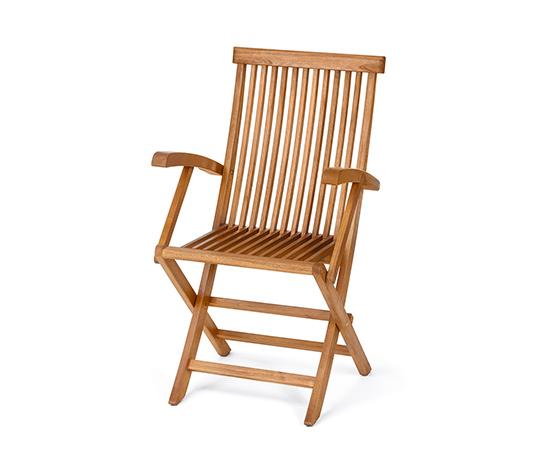 Kolçaklı Katlanabilen Sandalye