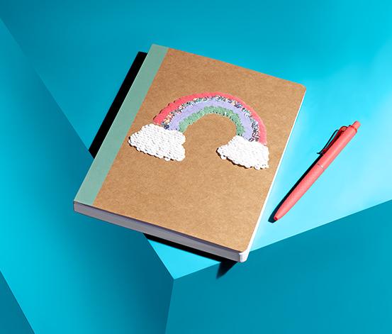 Podręczny notatnik dla dzieci »Tęcza«