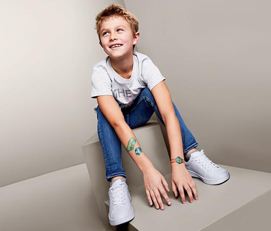 Komplet zmywalnych tatuaży dla dzieci