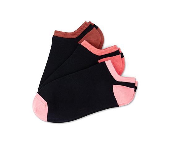 Krátke dámske ponožky, 3 páry