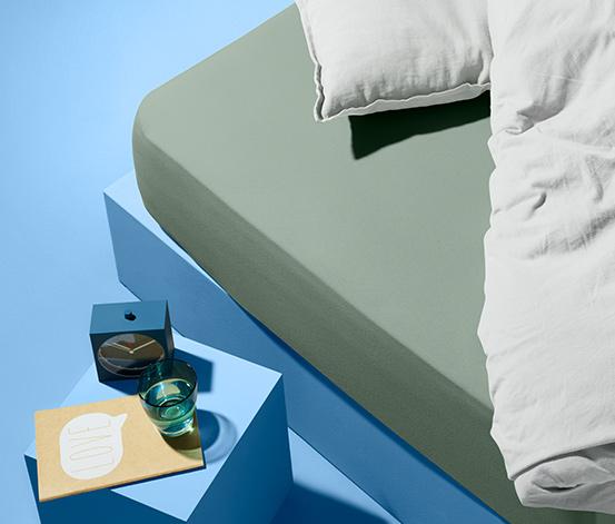 Resårlakan i jersey (för madrasser 90 x 190 – 100 x 200 cm)