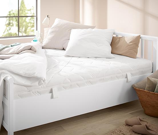 7-zónová matrace s jádrem ze soudkových pružin v taškách, 400, H 3: tvrdá, cca 90 x 200 cm