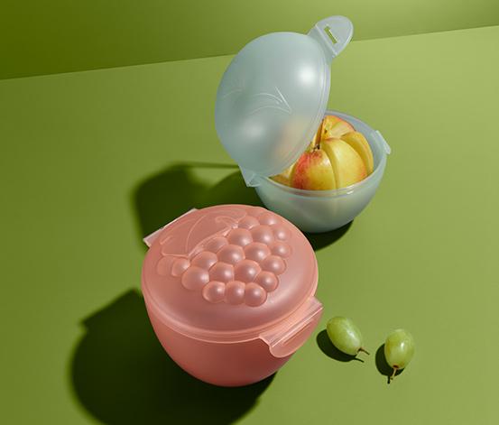 Apfel- und Traubenbox