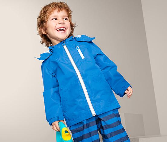 Nieprzemakalna dziecięca kurtka przeciwdeszczowa