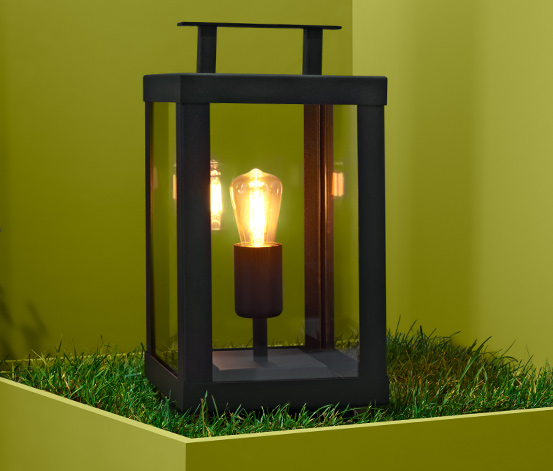 LED-Outdoor-Filament-Laterne, klein