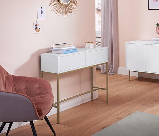 Konzolový stolek se 2 zásuvkami