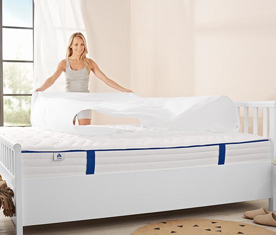 irisette® 7-zónová matrace s jádrem ze soudkových pružin v taškách, 1.000, H 3: tvrdá, cca 140 x 200 cm
