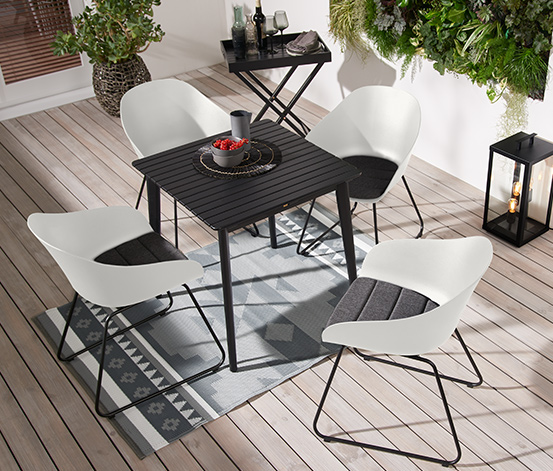 Plastik Bahçe Sandalyesi