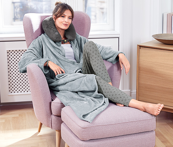 Mäkučká deka s rukávmi