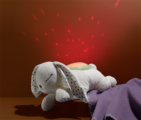 Nočné svetlo s LED »Zajačik«