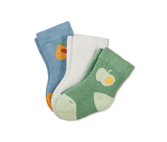 Ponožky pre bábätká, 3 páry