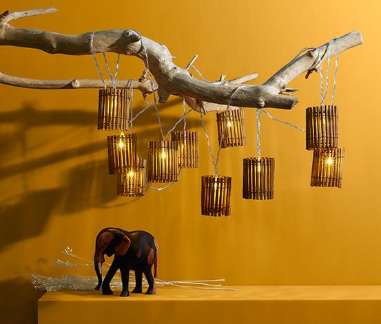 LED-Lichterkette »Rattan«