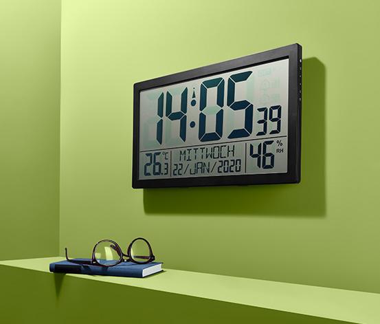 Horloge radio-pilotée XXL