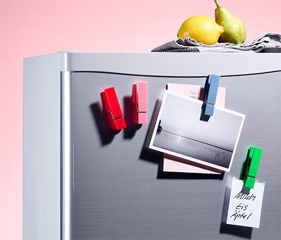4 Kühlschrankmagnete