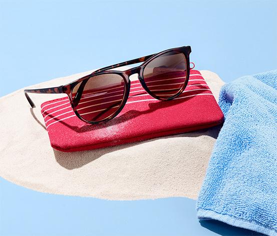 Brýle na čtení s tónovanými skly, kulaté