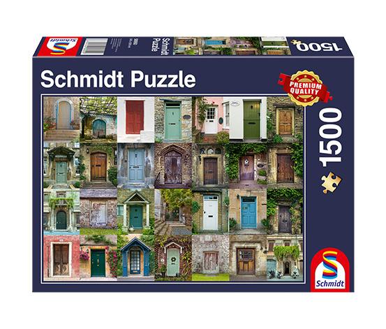 Schmidt Spiele Puzzle »Türen«