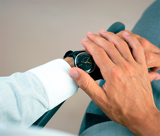 Withings »Move ECG« Fitnessuhr
