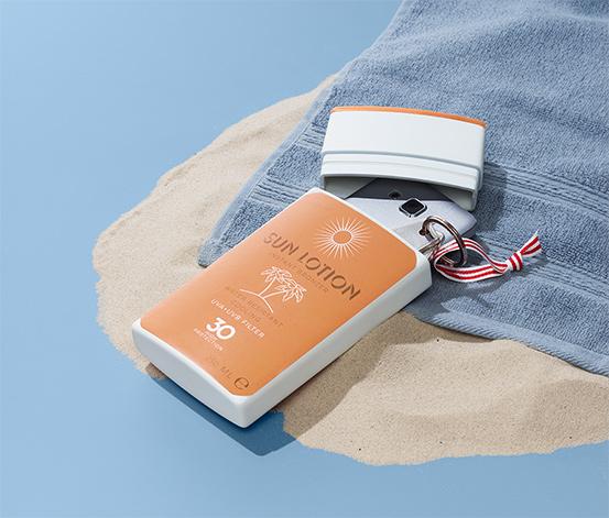 Strand-Safe »Sonnenmilch«