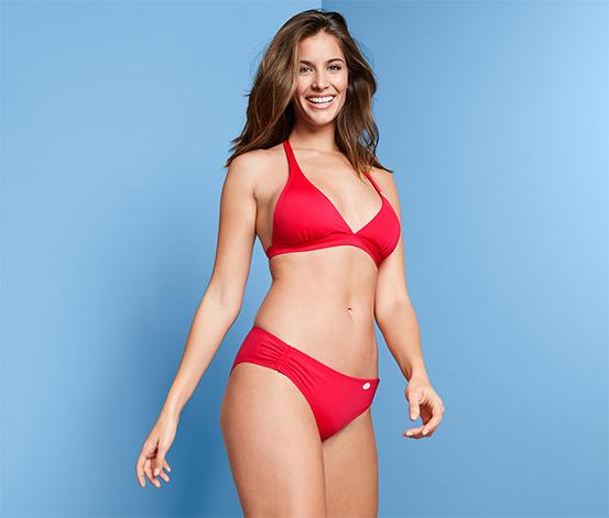 Női bikinialsó, piros