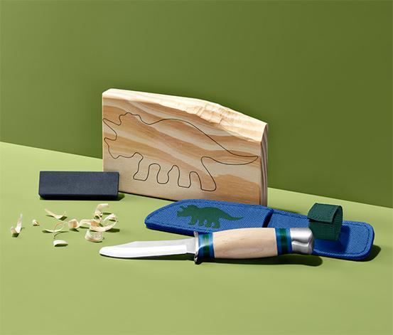 Zestaw do rzeźbienia z nożykiem