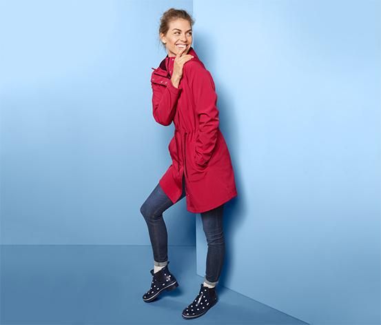 Softshellový kabát s kapucí