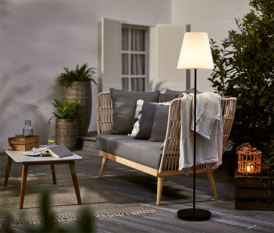 LED-Outdoor-Stehleuchte