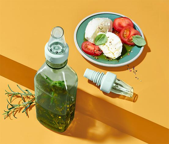 Nástavce na lahvičky na olej a ocet, 2 ks