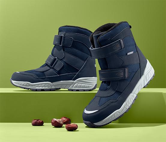 Ocieplane buty z odblaskiem