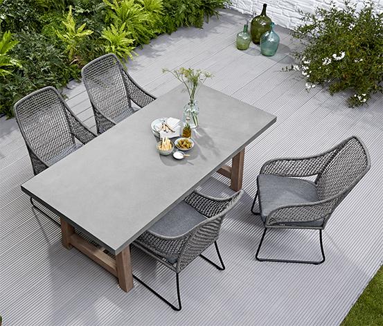 Gartentisch In Betonoptik Ca 2 M Online Bestellen Bei Tchibo 378895