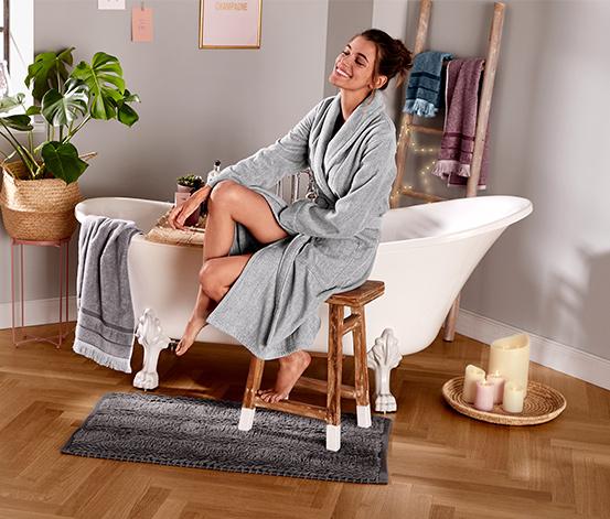 Dywanik łazienkowy z antypoślizgowym spodem, 60 x 100 cm