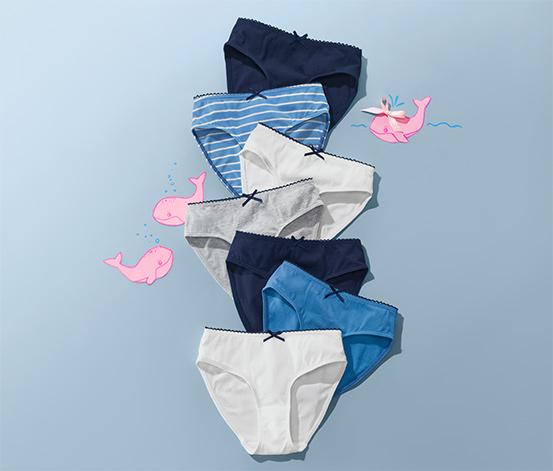 Dívčí kalhotky, 7 ks