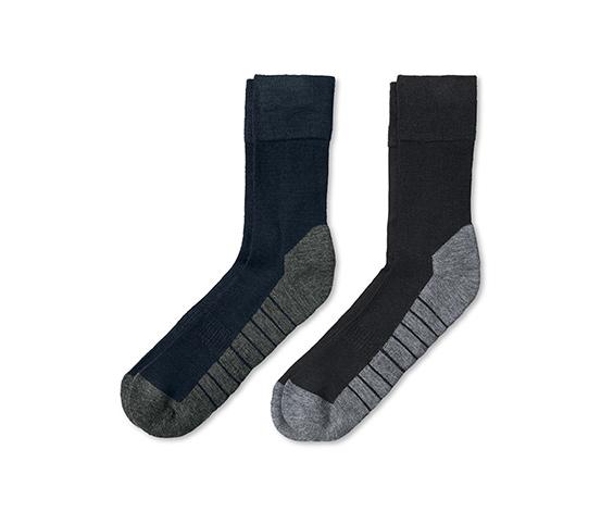 2 paires de chaussettes outdoor
