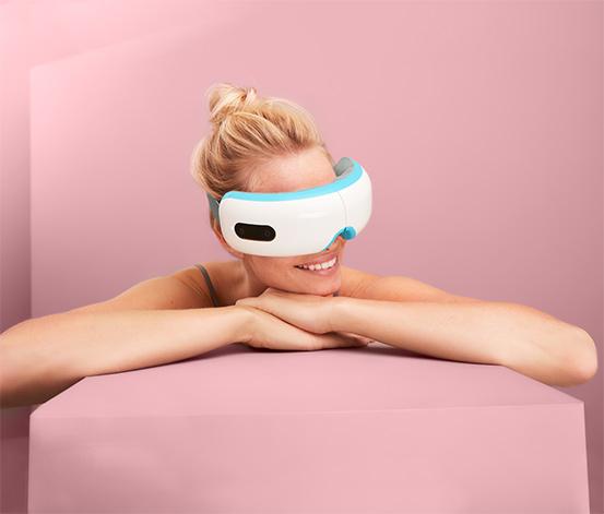 Elektrický přístroj k masáži očních partií
