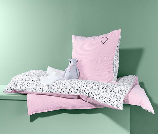 Parure de lit réversible en tissu renforcé