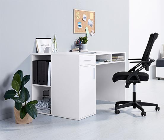 Biurko z miejscem do przechowywania