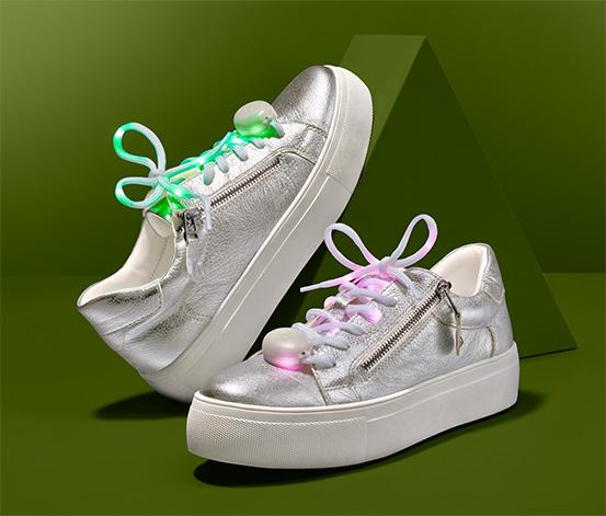 LED-es cipőfűző