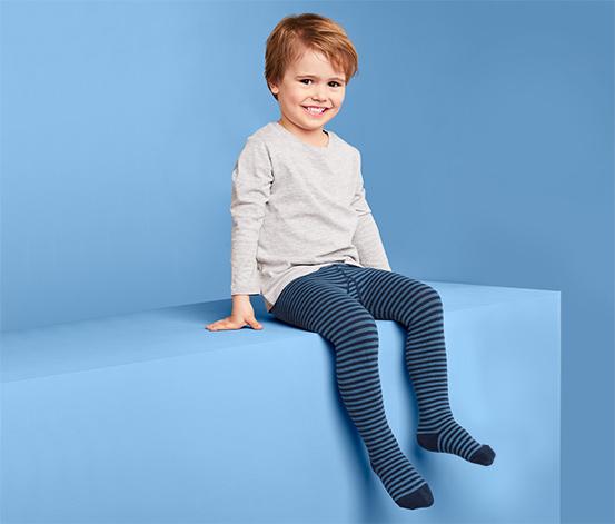 Rajstopy dziecięce z podeszwą z tkaniny frotte, 3 pary