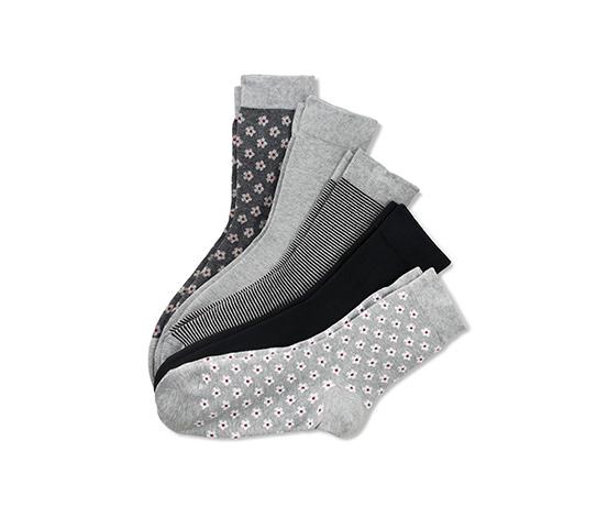 5 paires de chaussettes