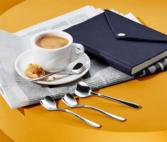 Lyžičky na espresso »Big Love«, 4 ks