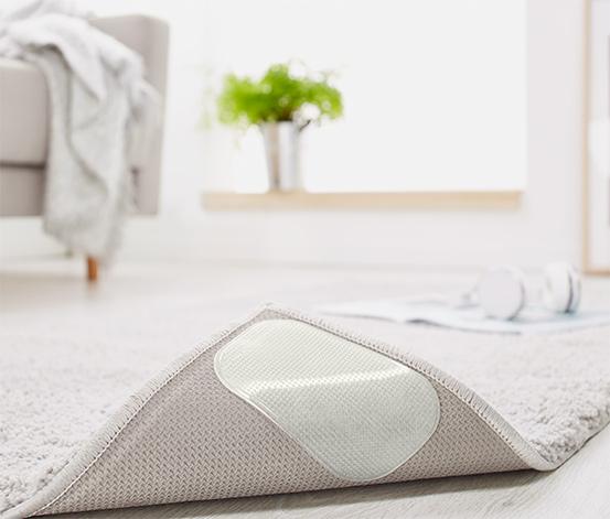 4 Teppich-Antirutsch-Pads
