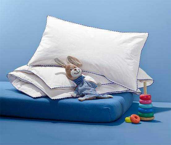 irisette® Kinder-Daunenkissen und -Steppbett, ca. 100 x 135 cm