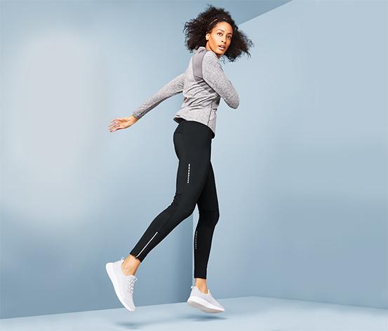 Damskie legginsy do biegania