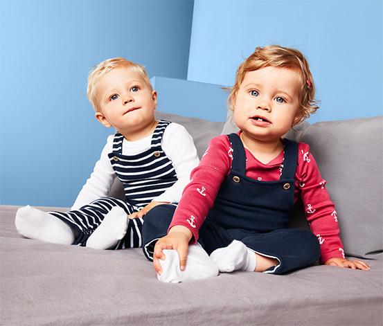 Kisgyerek kifordítható, kantáros nadrág